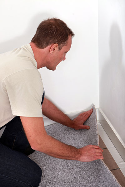 How to Install New Carpets
